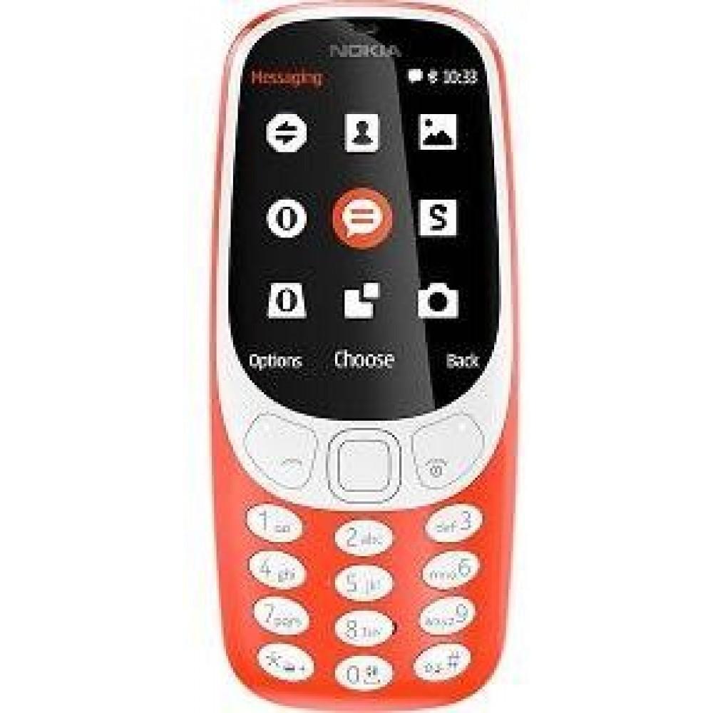 Nokia 3310 2017 Dual Sim - 16 MB, 3G, 2 megapixel, Red
