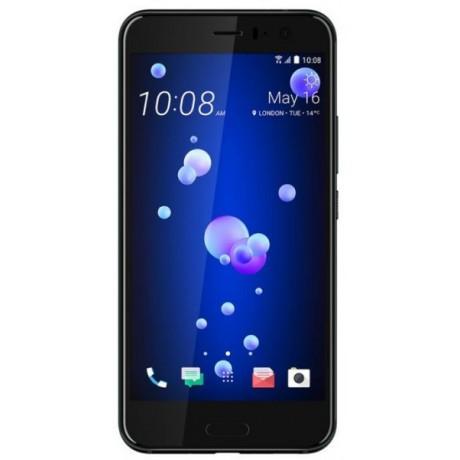 HTC U 11 Dual SIM - 64GB, 4GB RAM, 4G LTE, Brilliant Black