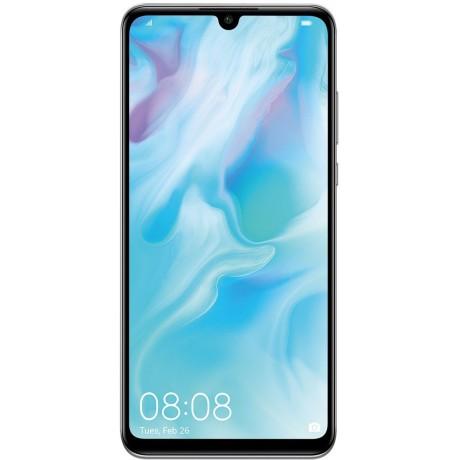 Huawei P30 lite Dual SIM - 128GB, 4GB RAM, 4G LTE, Pearl White