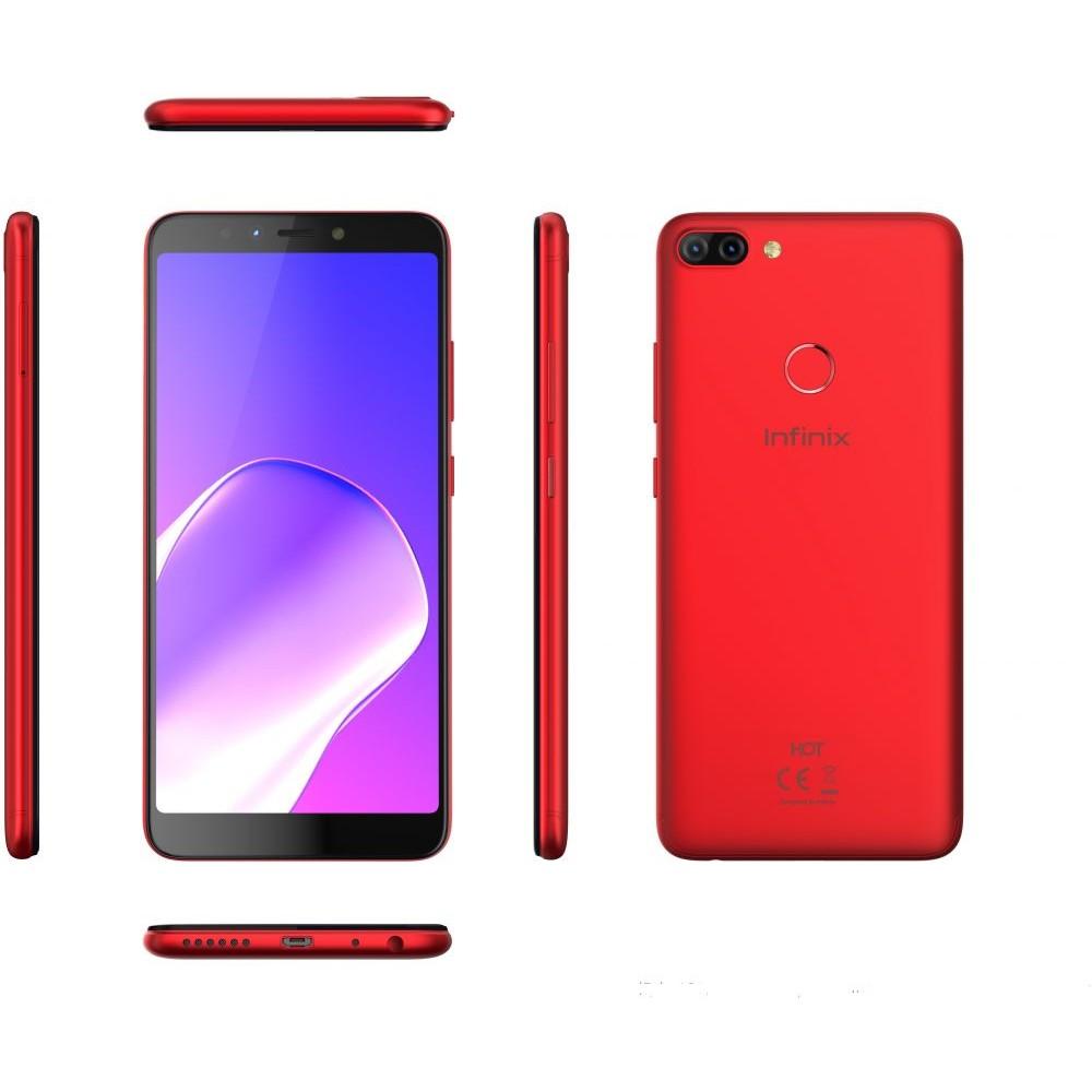 Infinix Hot 6 Pro X608 Dual SIM - 32GB, 3GB RAM, 4G LTE, Red