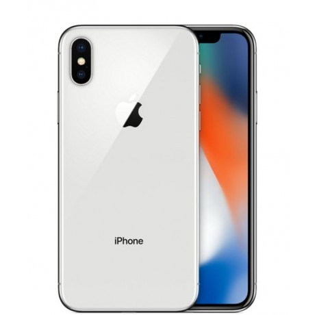 Apple iPhone X without FaceTime - 256GB, 4G LTE, Silver