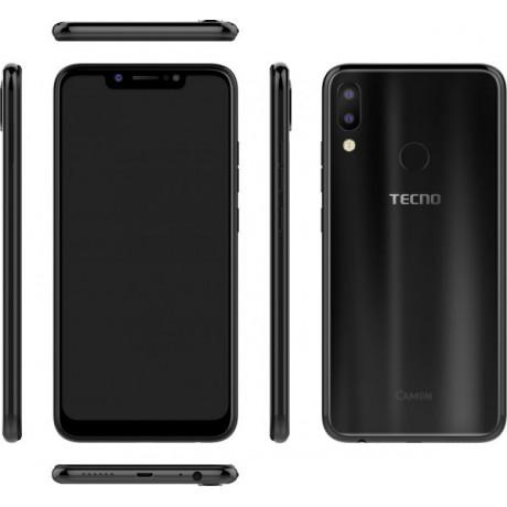 Tecno Camon 11 Dual SIM - 32GB, 3GB RAM, 4G LTE, Midnight Balck