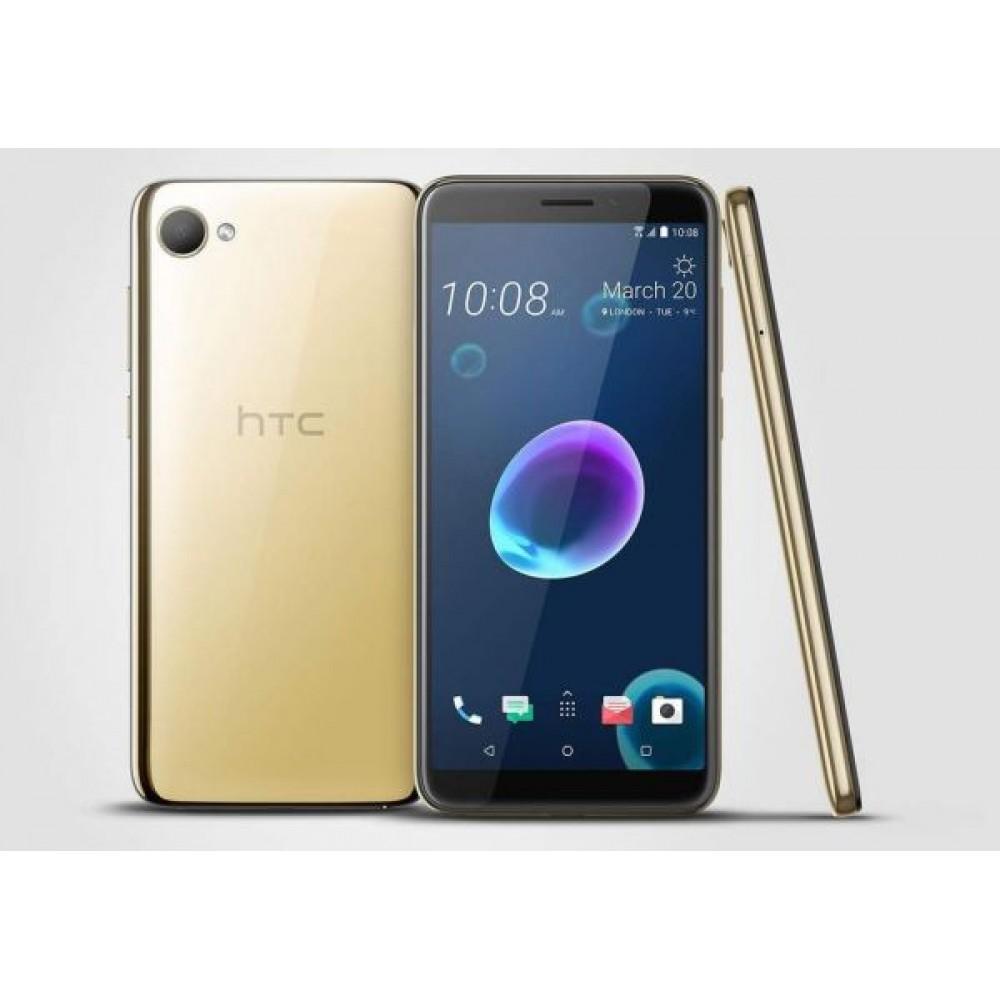 HTC Desire 12 Dual SIM - 32GB, 3GB RAM, 4G LTE, Gold