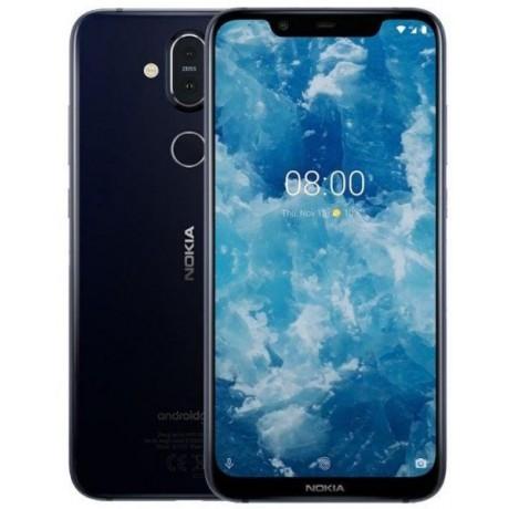 Nokia 8.1 Dual SIM - 64GB, 4GB RAM, 4G LTE, Blue