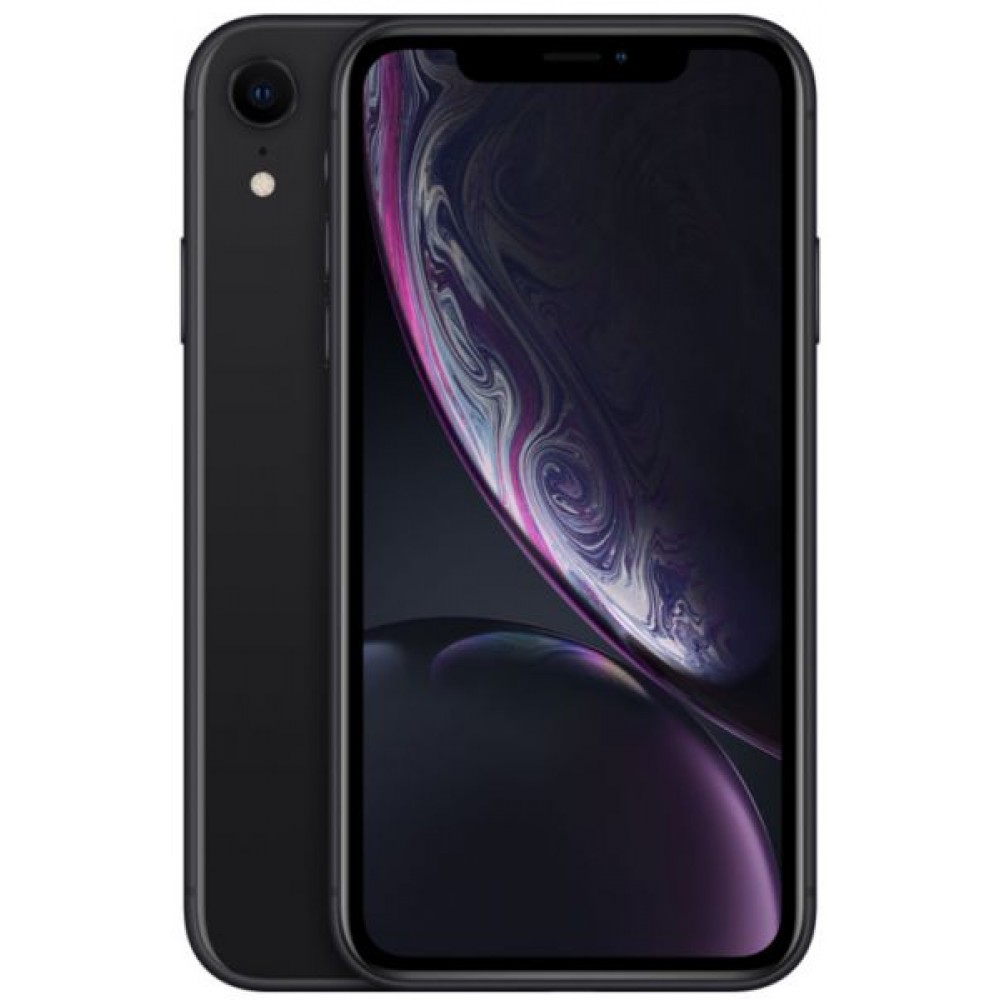 Apple iPhone XR with Face Time - 128GB, 4G LTE, Black