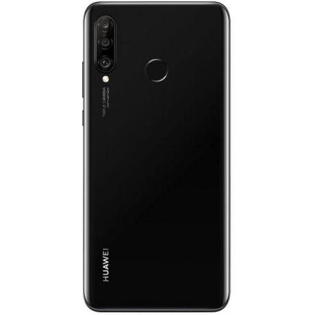 Huawei P30 lite Dual SIM - 128GB, 4GB RAM, 4G LTE, Midnight Black