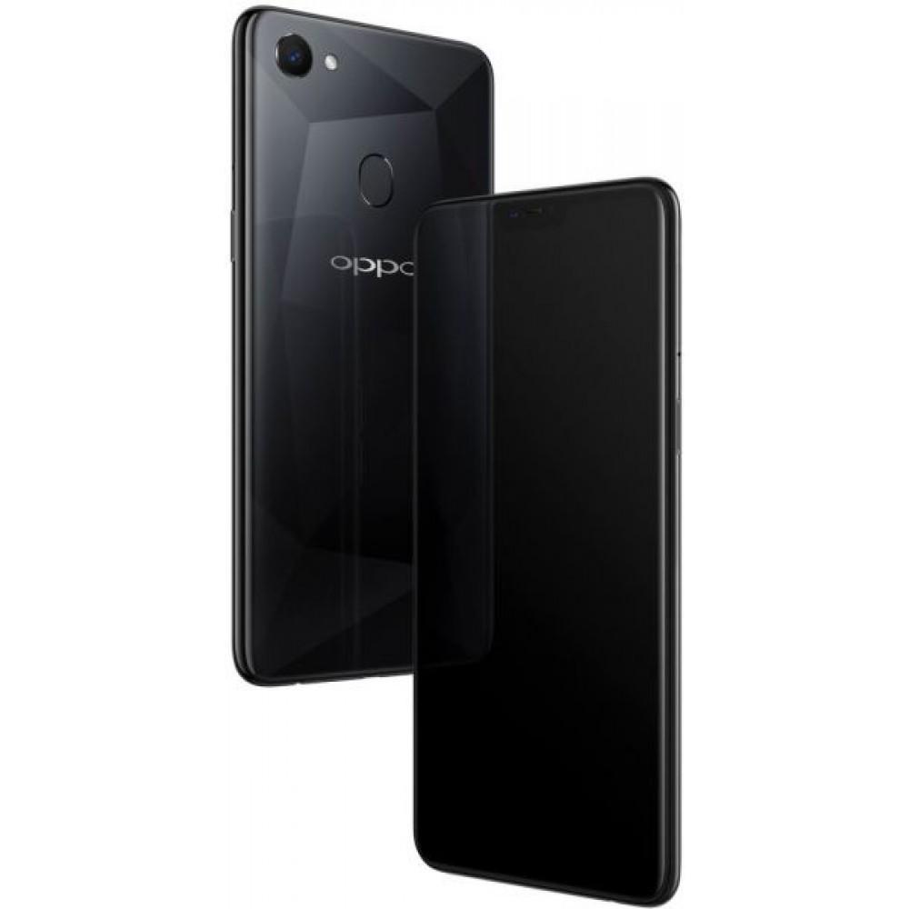 OPPO F7 Dual SIM - 128GB, 6GB RAM, 4G LTE, Diamond Black