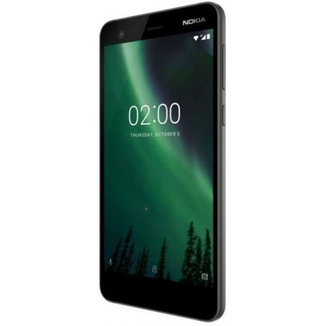 Nokia 2 Dual SIM - 8GB, 1GB RAM, 4G LTE, Pewter/Black