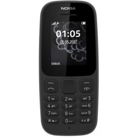 NOKIA 105 (2017) - 4MB, Dual Sim, Black