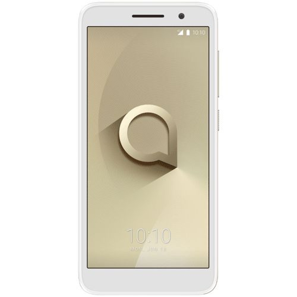 Alcatel 1 - 8GB, 1GB RAM, 4G LTE, Metallic Gold