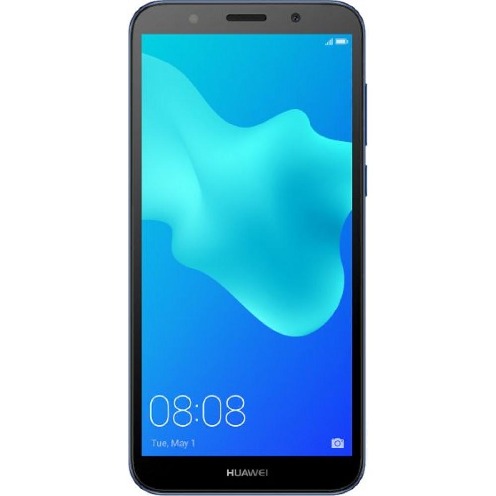 Huawei Y5 Prime 2018 Dual SIM - 16GB, 2GB RAM ,4G LTE, Blue