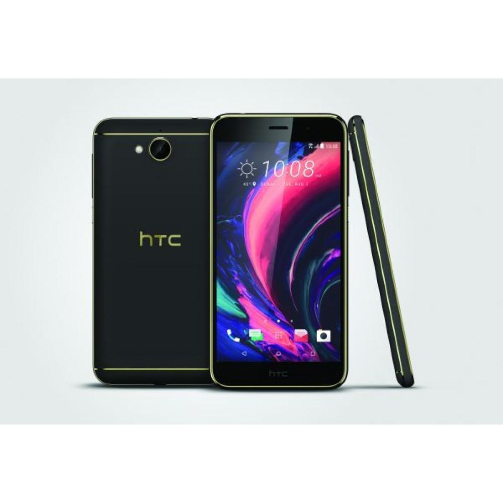 HTC Desire 10 Compact Dual SIM - 32GB, 3GB RAM, 4G LTE, Stone Black