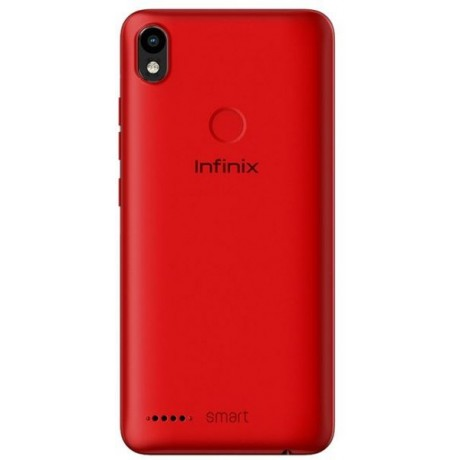 Infinix Smart 2 Dual SIM - 16GB, 1GB RAM, 4G LTE, Red