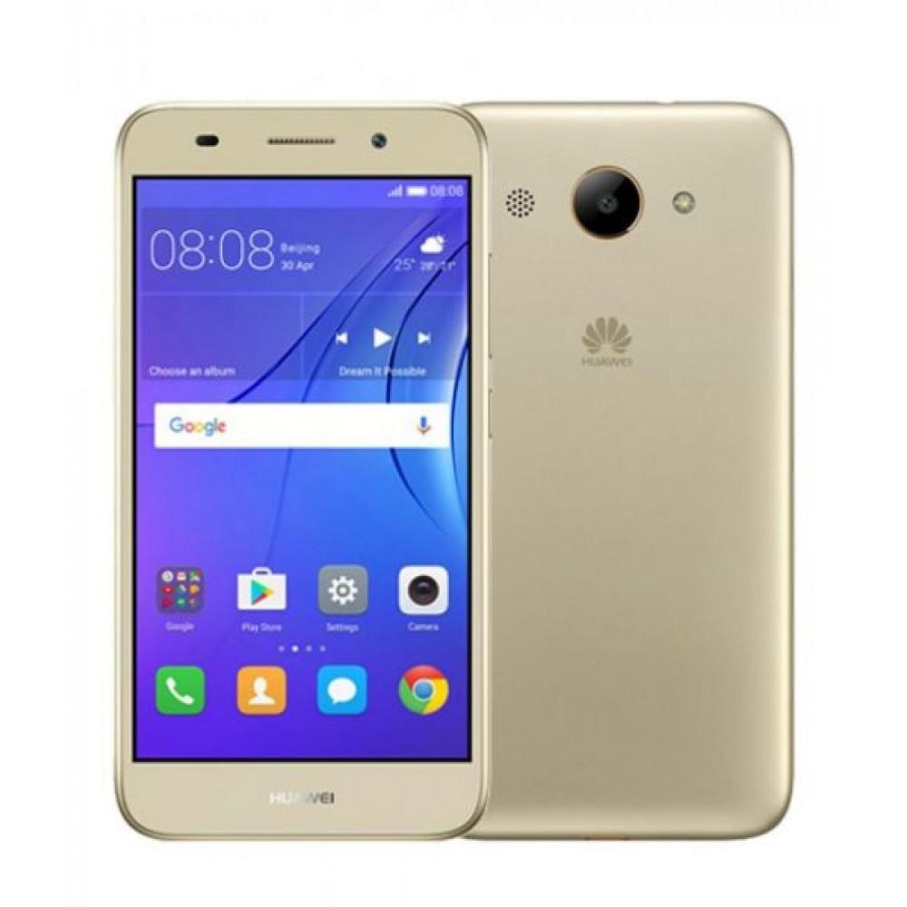 Huawei Y3 2017 Dual Sim - 8 GB, 1 GB RAM, 3G, Gold