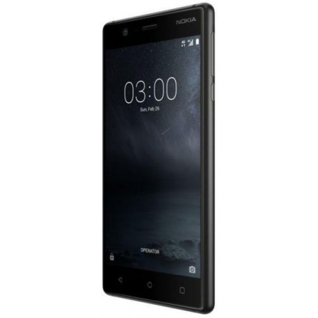 Nokia 3 Smartphone LTE, Black