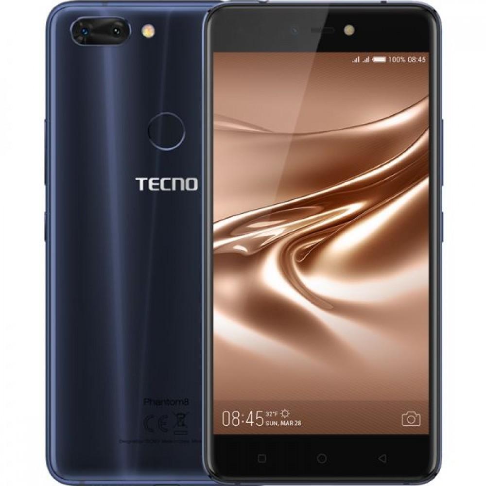 Tecno Phantom 8 , Dual Sim , 64GB , 6GB RAM , 4G LTE , Blue