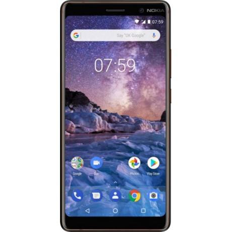 Nokia 7 Plus TA-1046 Dual SIM - 64GB, 4GB RAM, 4G LTE, Black