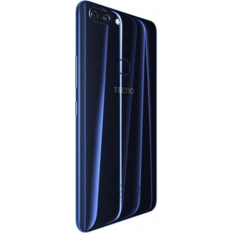 Tecno Phontom 8 Dual SIM - 64GB, 6GB RAM, 4G LTE, Blue