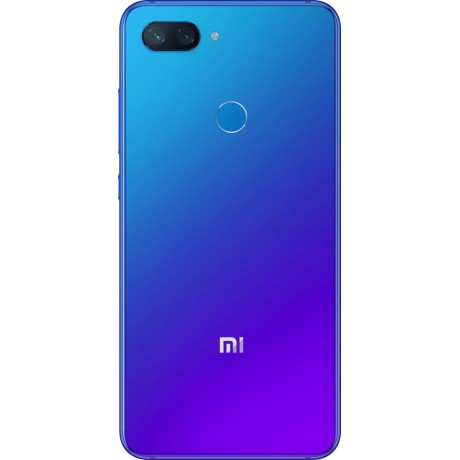 Xiaomi Mi 8 Lite Dual SIM - 128GB, 6GB RAM, 4G LTE, Aurora Blue - International Version