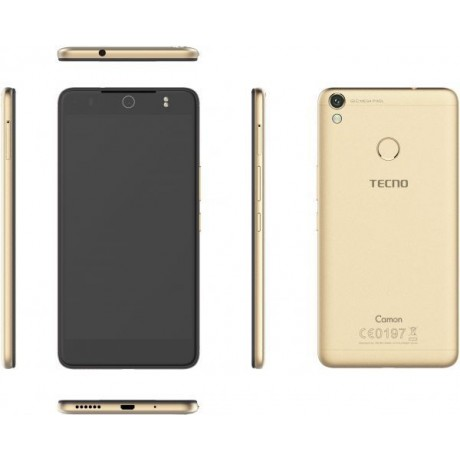 Tecno Camon CX Pro Dual Sim - 32GB, 3GB RAM, 4G LTE, Champagne Gold