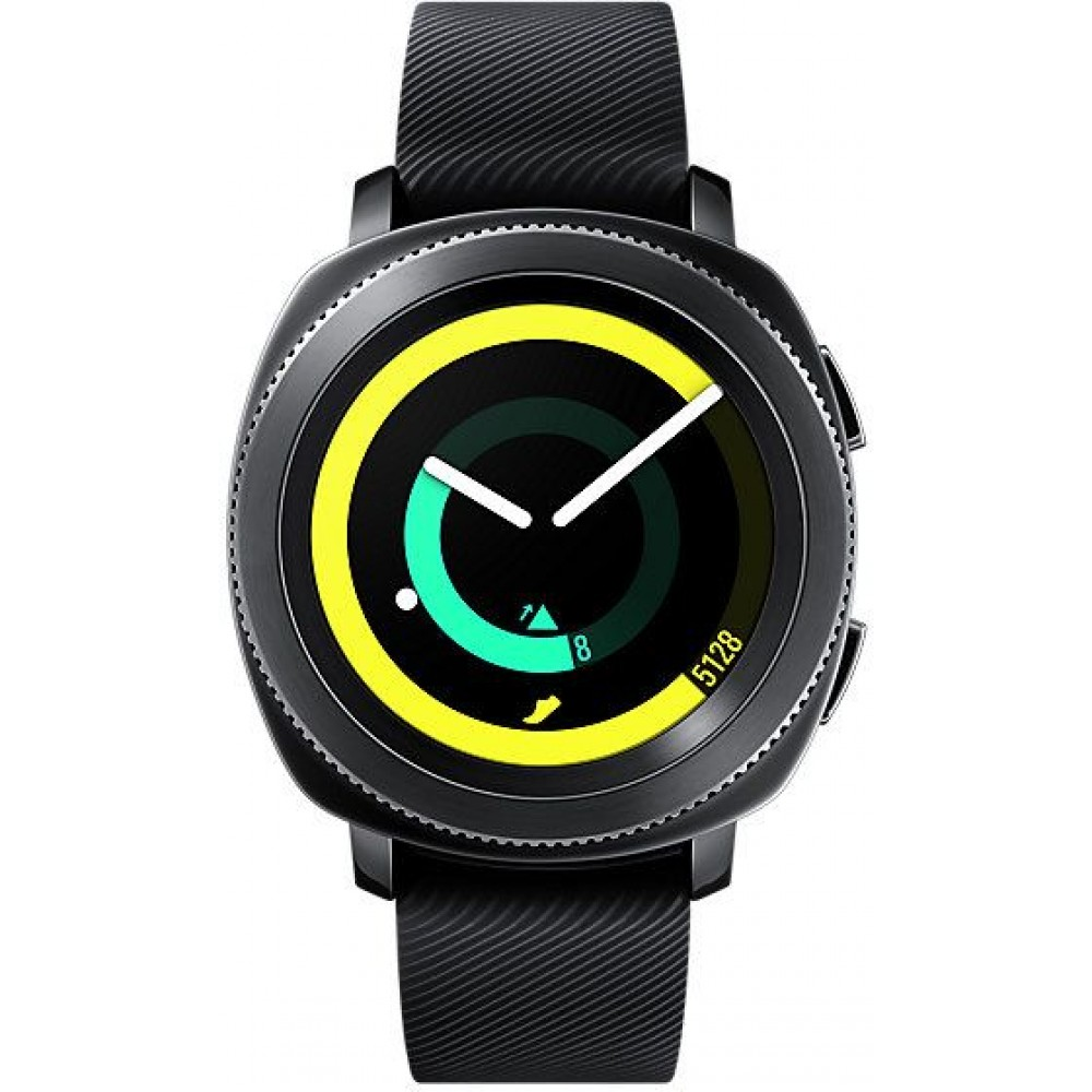 Samsung Smart Watch Silicone Band For Android & iOS,Black - SM-R600NZKAKSA