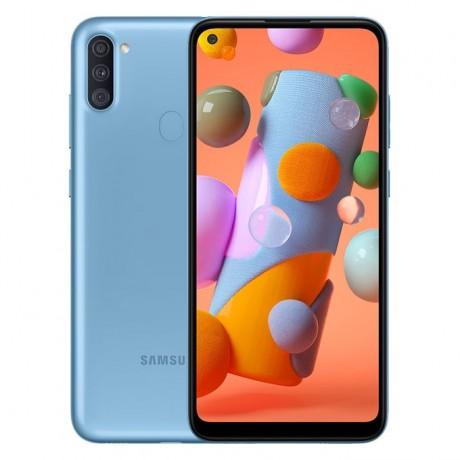 Samsung Galaxy A11 - 6.4-inch 32GB/2GB Dual SIM Mobile Phone - Blue