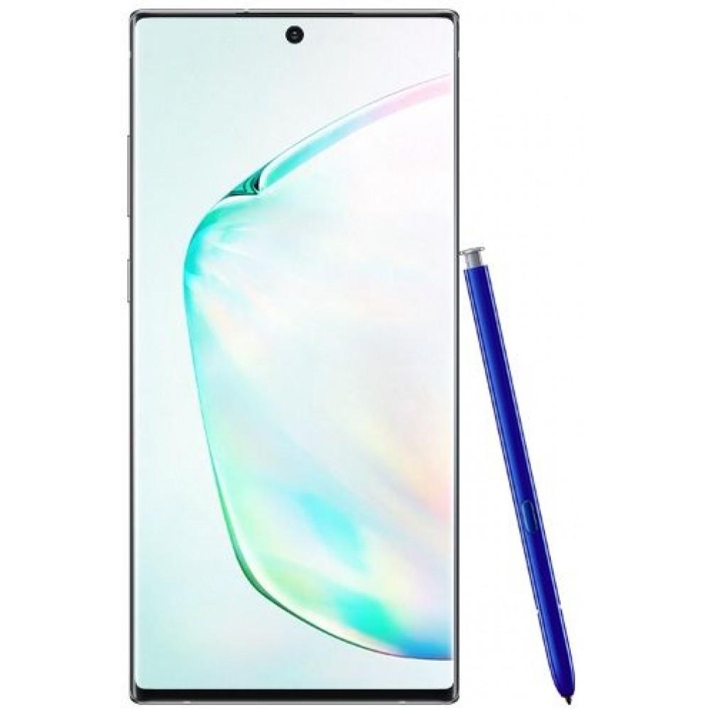 Samsung Galaxy Note 10 Plus Dual SIM - 256GB, 12GB RAM, 4G LTE, Aura Glow - Pre order
