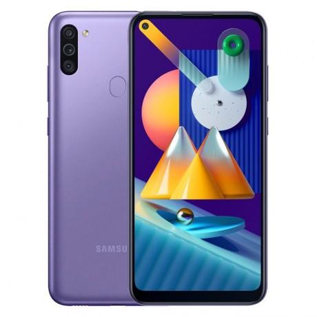 Samsung Galaxy M11 - 6.4-inch 32GB/3GB Dual SIM Mobile Phone - Violet
