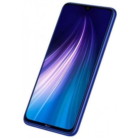 Xiaomi Redmi Note 8 Dual SIM - 64GB, 4GB RAM, 4G LTE, Neptune Blue