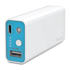 ILUV MYPOWER 5200mAh Power Bank, White